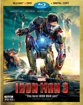 Iron Man 3 Blu-ray 2-Disc cover art