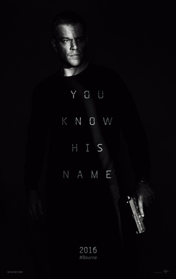 Bourne 5 movie poster
