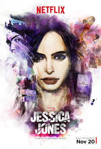 Marvel's Jessica Jones movie poster