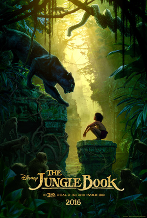 Disney's The Jungle Book movie poster