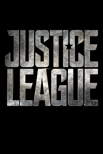 Justice League Part One movie poster