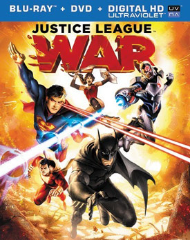 Justice League: War blu-ray cover
