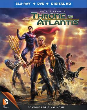 Justice League: Throne of Atlantis Blu-ray