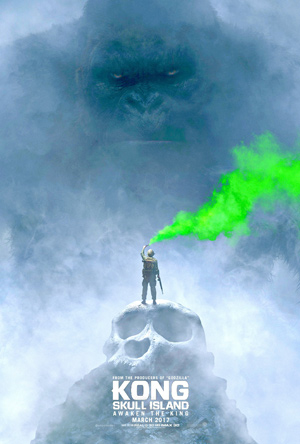 King Kong Skull Island movie poster