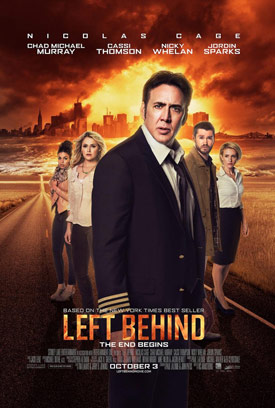 Left Behind movie poster