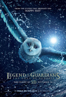 Legend of the Guardians: The Owls of Ga'Hoole 3D movie poster