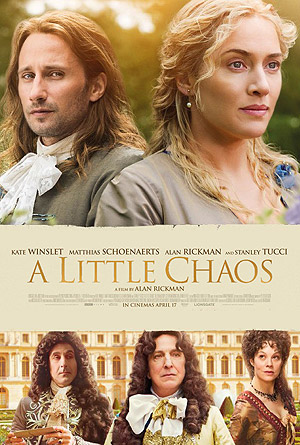 A Little Chaos movie poster