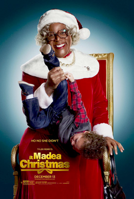 A Madea Christmas movie poster