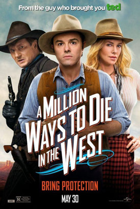 A Million Ways to Die in the West movie poster