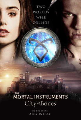 The Mortal Instruments movie poster