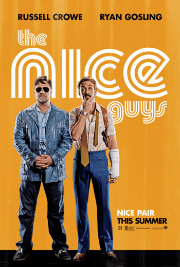 The Nice Guys movie poster