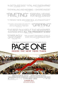 Page One movie poster