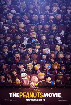 Peanuts Movie movie poster