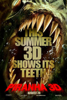Piranha 3-D movie poster