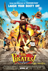 The Pirates Band of Misfits movie poster