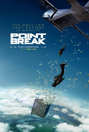 Point Break remake poster