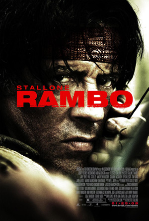 Rambo movie poster