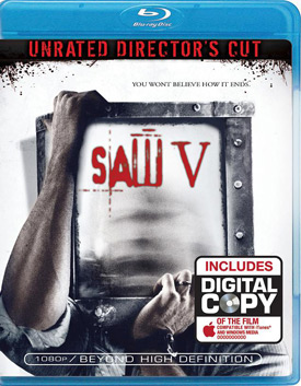 Saw V movie poster