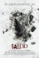 Saw VII 3D movie poster
