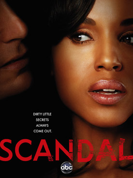 Scandal TV poster