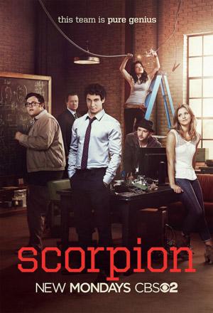 Scorpion TV poster
