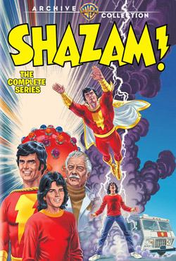 Shazam DVD poster