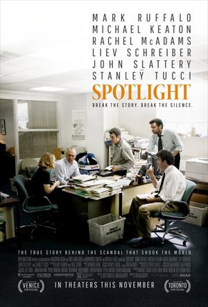 Spotlight movie poster