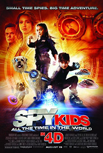 Spy Kids 4 movie poster