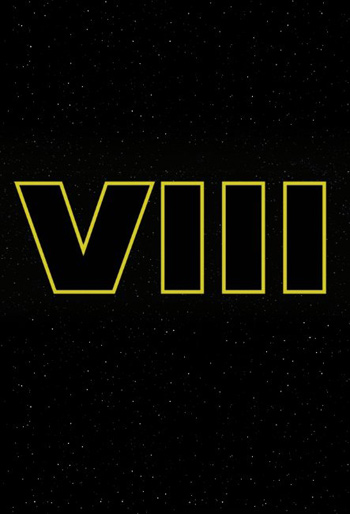 Star Wars: Episode VIII movie poster
