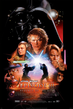 Star Wars: Episode III Revenge of the Sith 3D movie poster