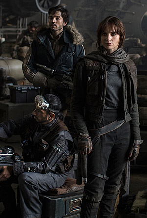 Star Wars: Rogue One movie poster