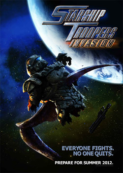 Starship Troopers Invasion movie poster