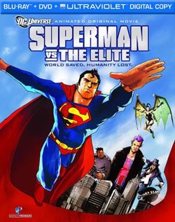Superman vs. The Elite movie poster