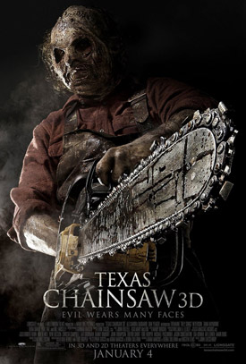 Texas Chainsaw Massacre 3D movie poster