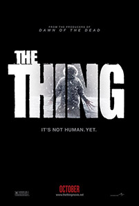 The Thing movie poster