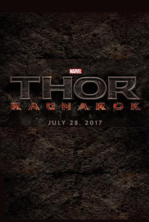 Thor 3: Ragnarok movie poster