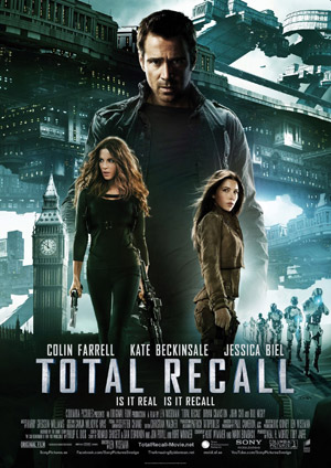 Total Recall remake movie poster