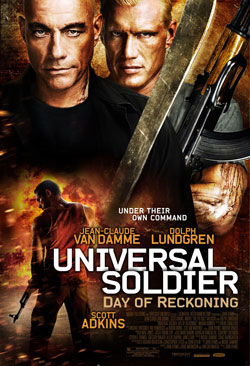 Universal Soldier: Day of Reckoning movie poster