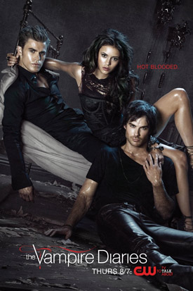 The Vampire Diaries TV poster