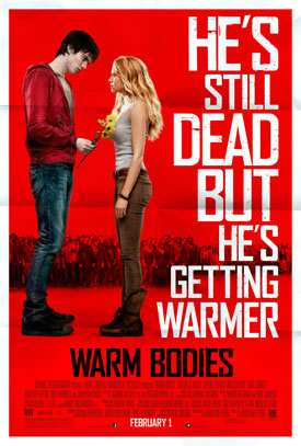 Warm Bodies movie poster