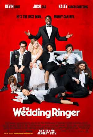 The Wedding Ringer movie poster