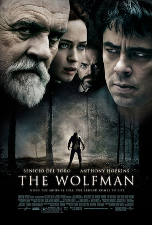 The Wolfman movie poster