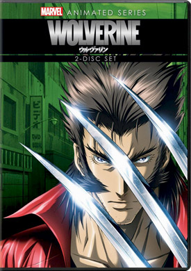 Wolverine Animated Series DVD cover