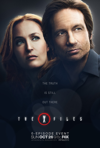 The X-Files TV poster