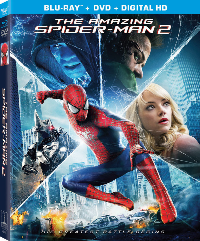 The Amazing Spider-Man 2 Blu-ray