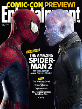 The Amazing Spider-Man 2 EW cover