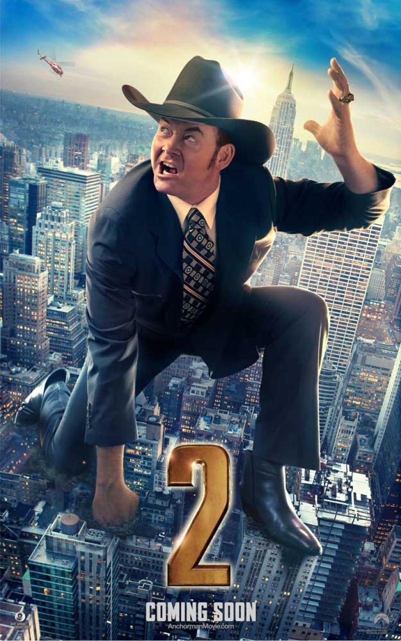 new character posters for anchorman 2 the legend