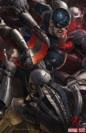 Avengers: Age of Ultron concept art poster