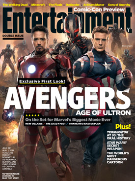Avengers: Age of Ultron Entertainment Weekly cover