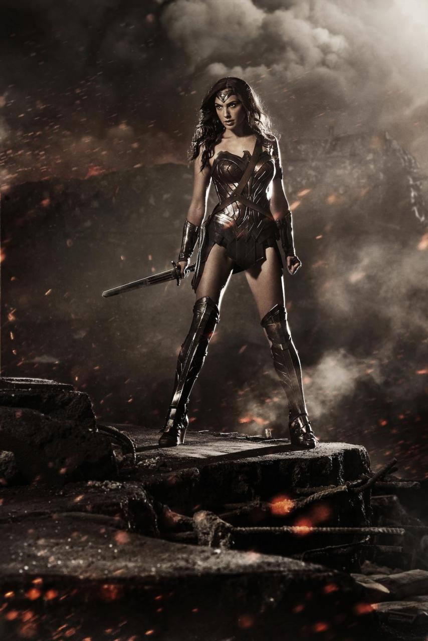 Wonder Woman Batman v Superman